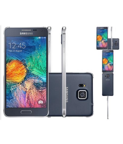 Smartphone Samsung Galaxy Alpha Preto (SM-G850M)